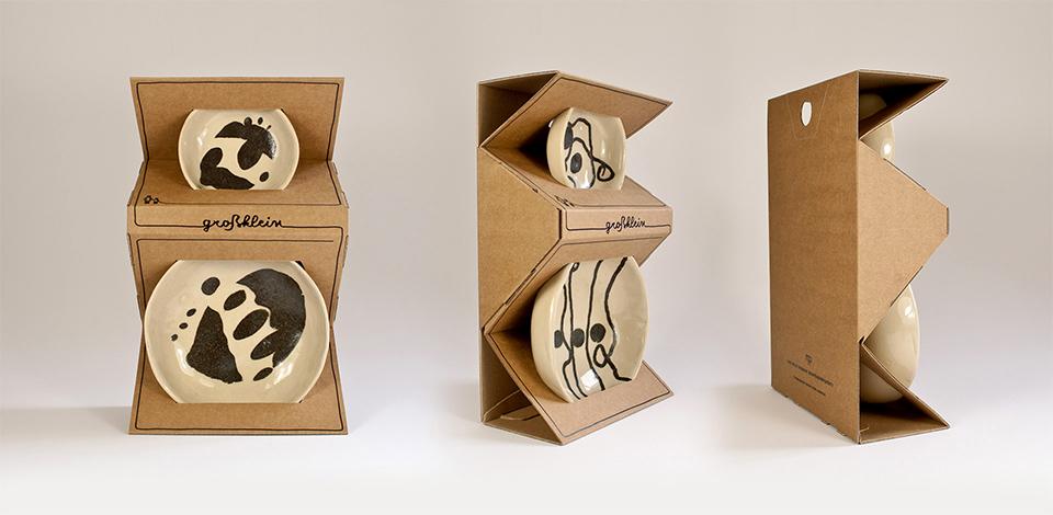 Groß-Klein Keramikverpackung
