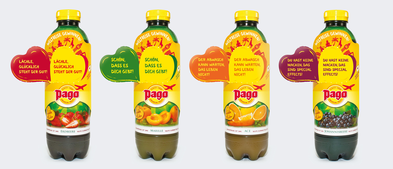 Pago Liebe das Leben Kartonsleeve Promotion