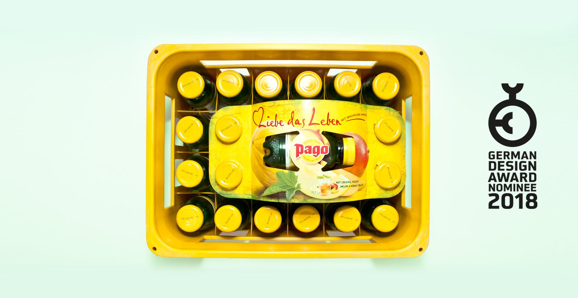 Pago Samplingflasche Kartonfixierung HEYSISTER