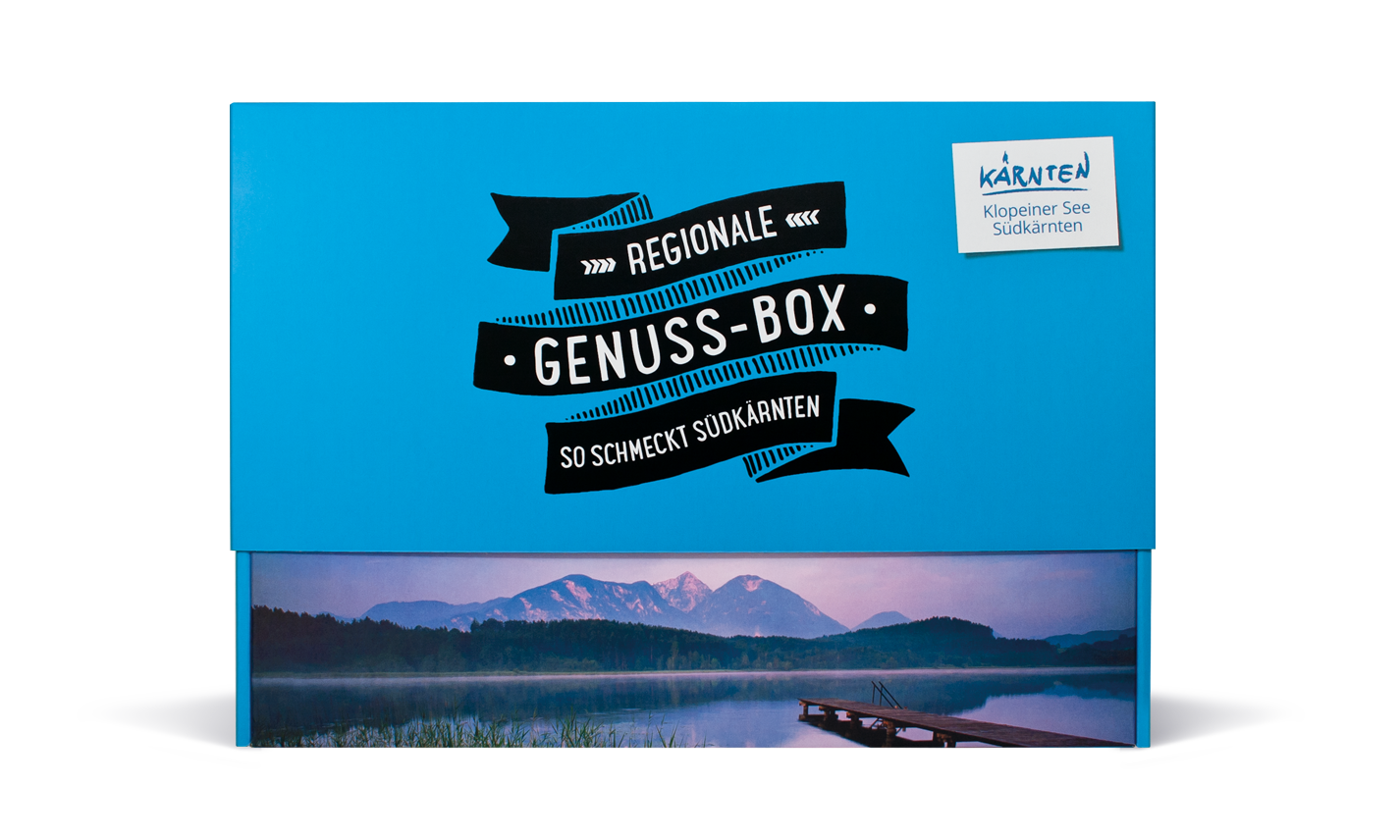 Genussbox Picknickbox Klopeinersee – Südkärnten