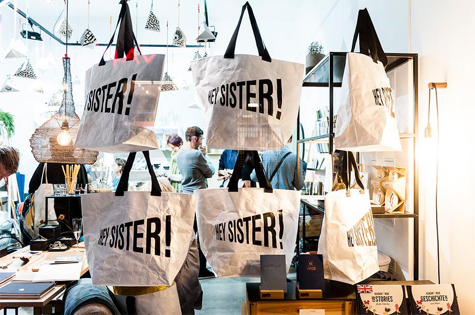 HEYSISTER! Cartonbag Verpackungslabor Vienna Design Week
