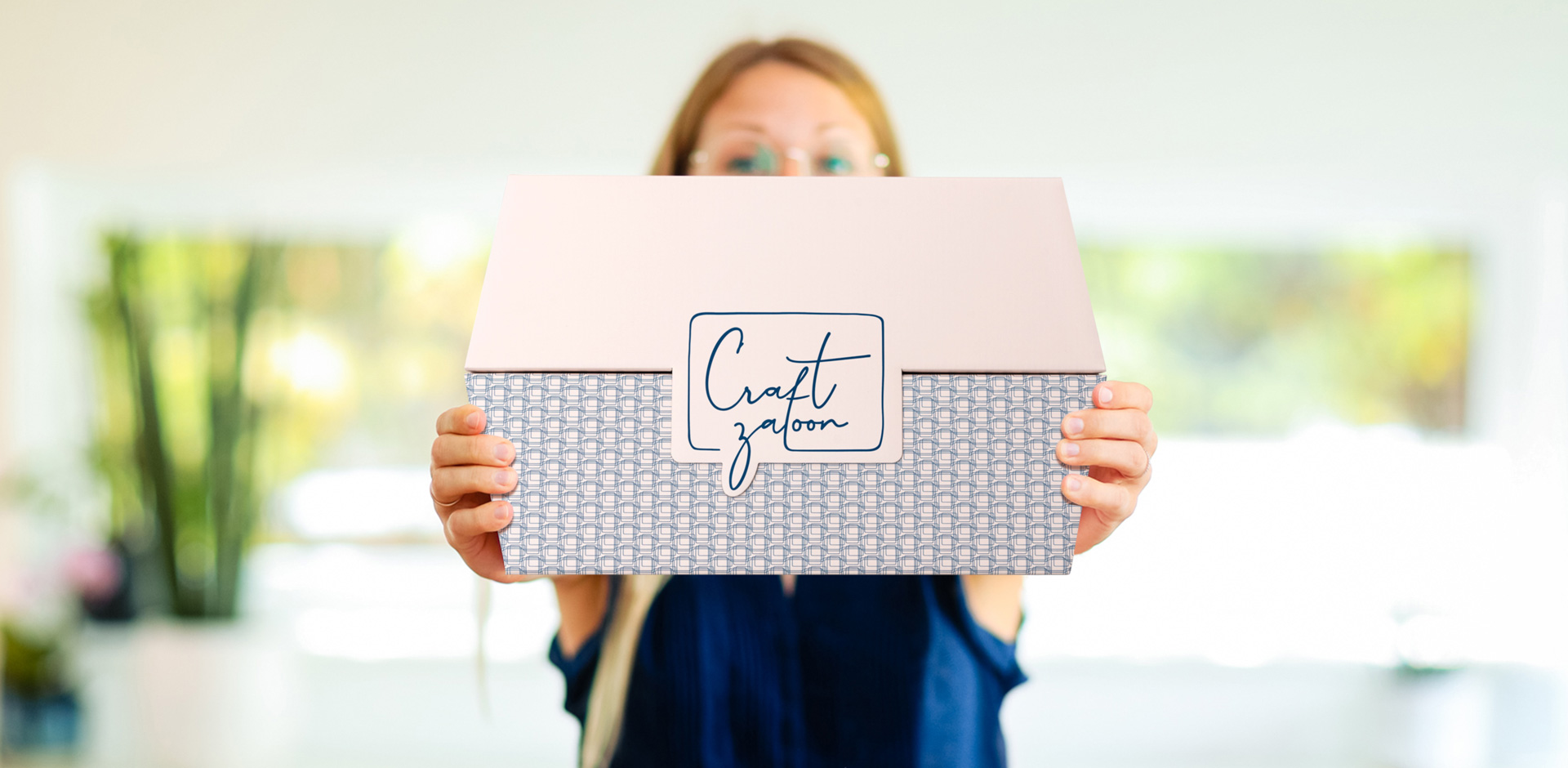 Craftzaloon Branding und Box Design by HEY SISTER!