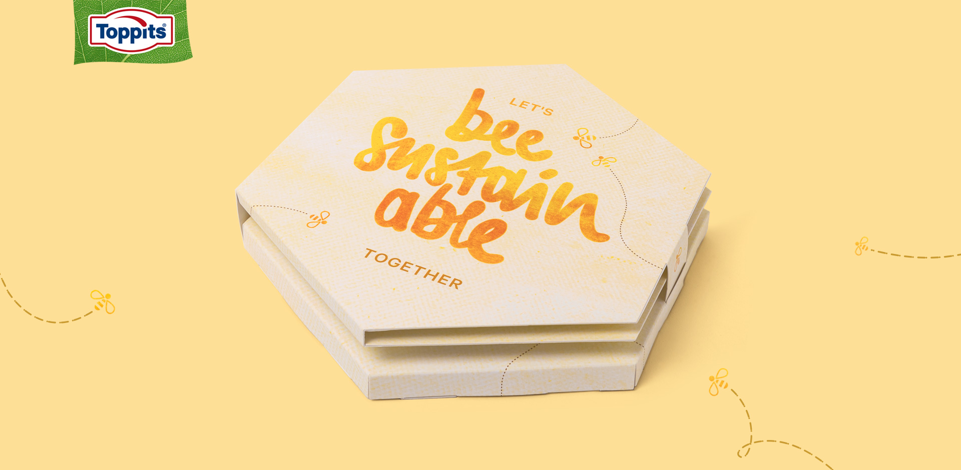 Toppits Beeswax Wraps Wabenbox