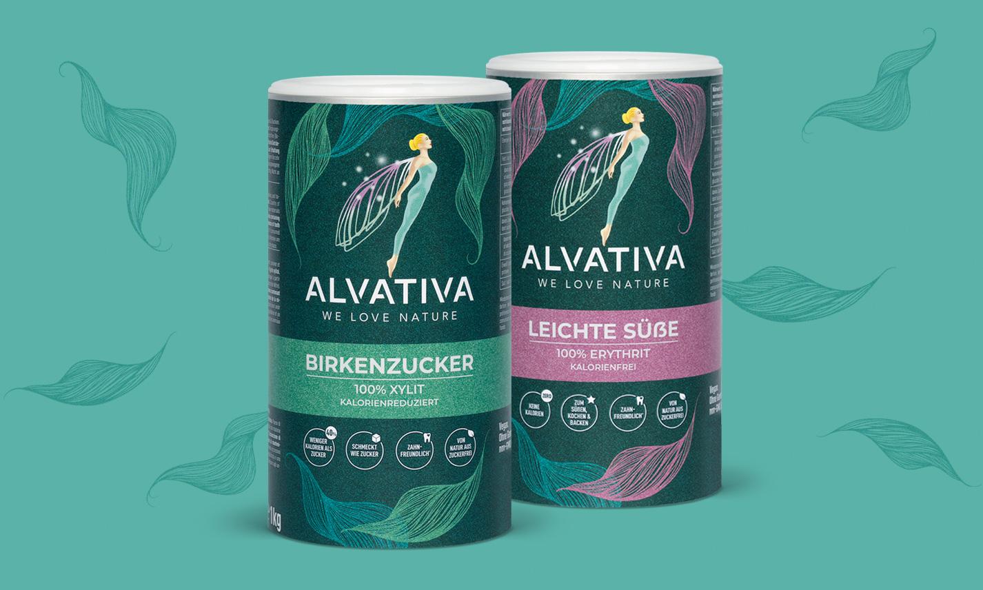 Alvativa Dosendesign by HeySister Packaging Design
